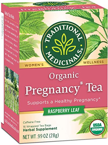 Traditional Medicinals Organic Pregnancy Herbal Tea 16 Tea Bags