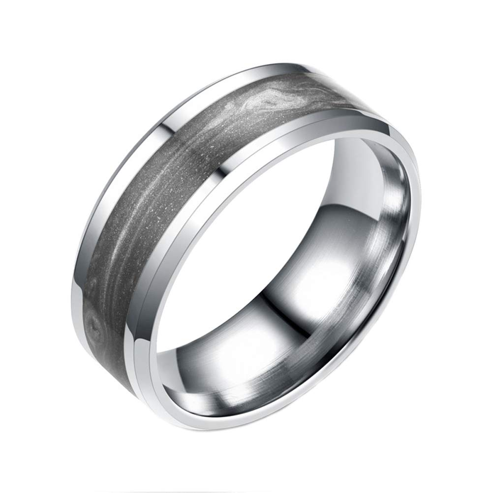 Nicola 8mm Ring Jewelers Wedding Band For Men Beveled Edge Matte Brushed Finish Center Bandamazon: Beveled Edge Matte Wedding Ring At Reisefeber.org