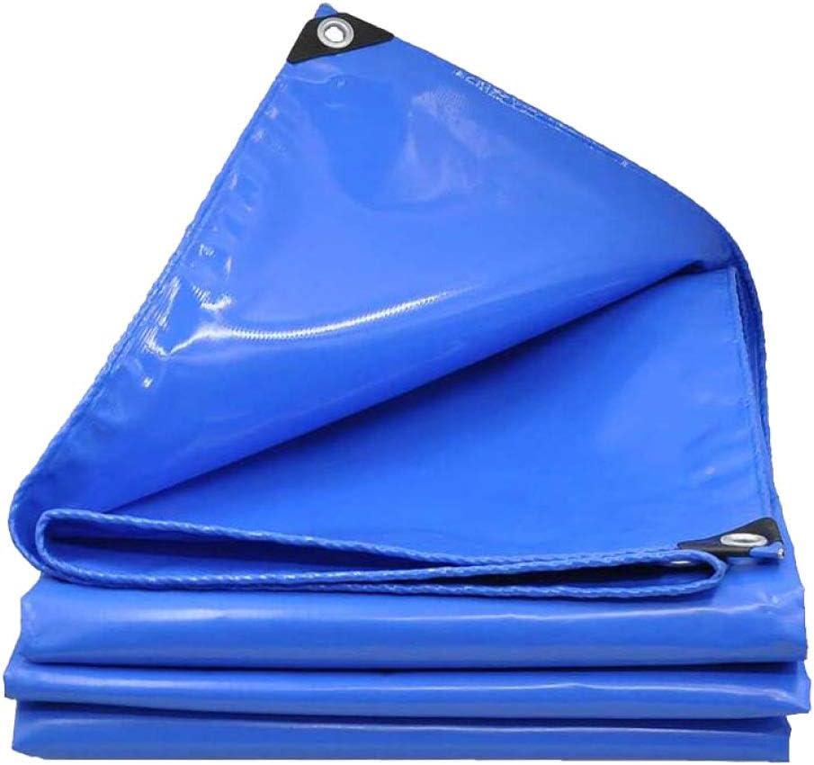 AOHMG Lonas Impermeables Exterior Con Ojales, 18 mil bordes reforzados Car Poly Polypa Estabilizada contra UV,16.5x33ft/5x10m: Amazon.es: Bricolaje y herramientas