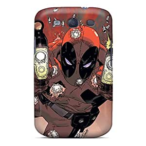Flexible Tpu Back Cases Covers For Galaxy S3 - Diving Deadpool