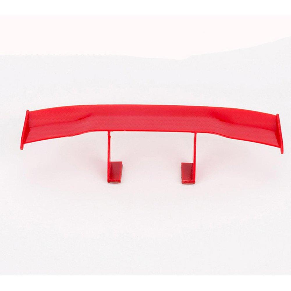 Red Alonea 6.7inch Universal Car Tail Wing Carbon Cheap Spoiler Mini Auto Fiber Decoration