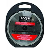 Task Tools T24755 12-Inch Task Signature Saw Blade with Compound Miter 1-Inch Arbor