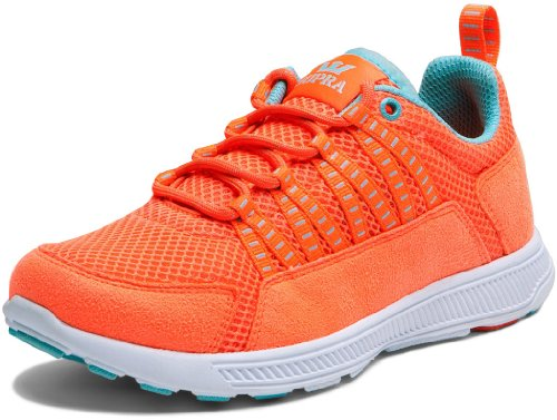 Shoes Supra WMNS Owen Neon Coral/Blue – White