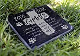 Memorial Pet Headstone - We Hold in Our Hearts - D20