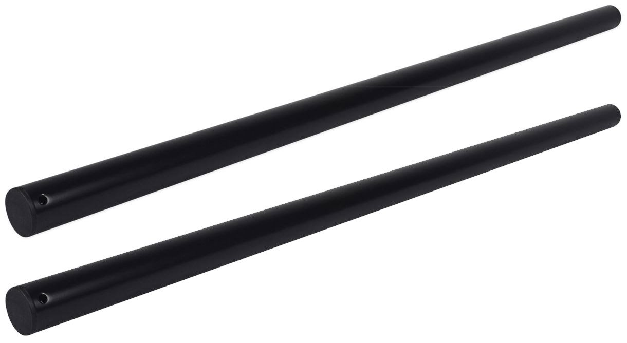(2) Rockville RSP36 36'' Mounting Pole from Subwoofers to Speakers, Heavy Duty by Rockville