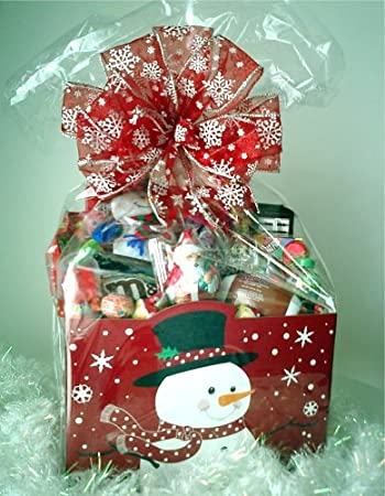 Christmas Gift Baskets For Kids.Amazon Com Kids Christmas Candy Gift Basket Gourmet