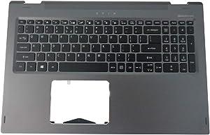 Acer Spin 5 SP515-51N SP515-51GN Gray Upper Case Palmrest & Keyboard 6B.GTQN1.009