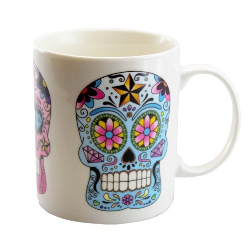 SKULL BONE CHINA MUG (3 Sugar