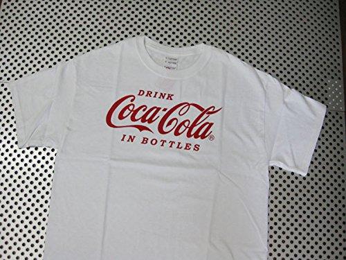 連鎖亜熱帯情熱的Coca-Cola/コカコーラ プリントTシャツ/ホワイト(CC-VT2W) コカコーラブランド USA アメカジ ブランド ドリンク アメリカン雑貨 アメリカ雑貨 コカコーラ