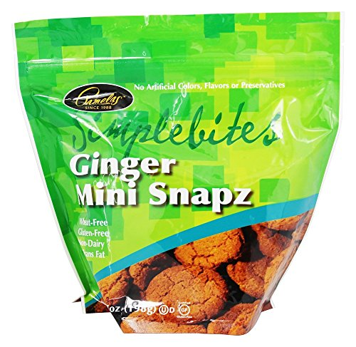 Pamela's Products Simple Bites Mini Cookies Gluten & Dairy Free Ginger Snapz -- 7 oz - 2 pc