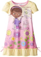 Komar Little Girls'  Yellow Doc Mcstuffin Gown