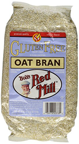 - Bobs Red Mill Oat Bran GF, 18 Ounce (Pack of 2)