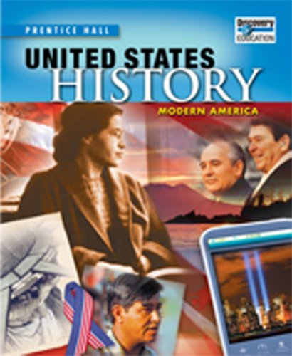 UNITED STATES HISTORY 2010 MODERN AMERICA STUDENT EDITION GRADE 11/12
