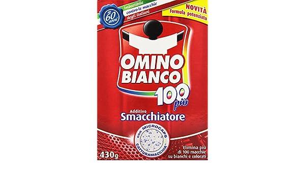 Omino Bianco - Quitamanchas, Aditivo, 430 g: Amazon.es: Alimentación y bebidas