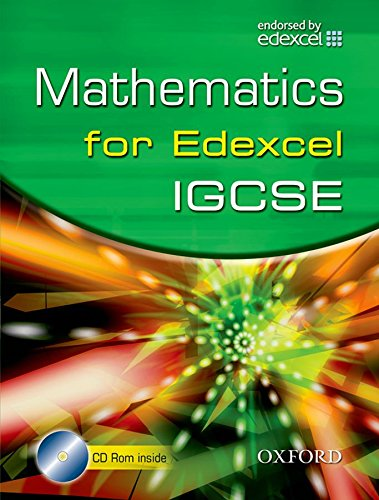 Edexcel Maths for IGCSE (R) (with CD)