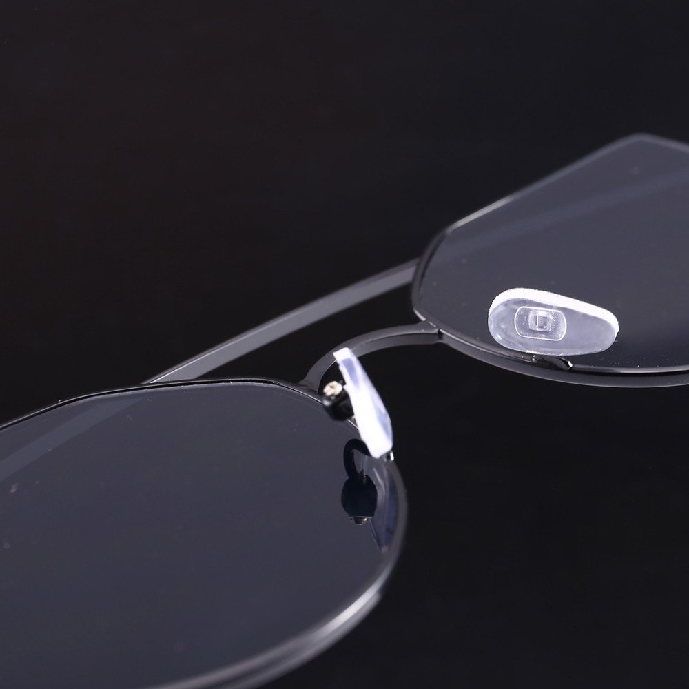 FD-FLY88 Rimless Sunglasses Transparent Candy Color Tinted Eyewear
