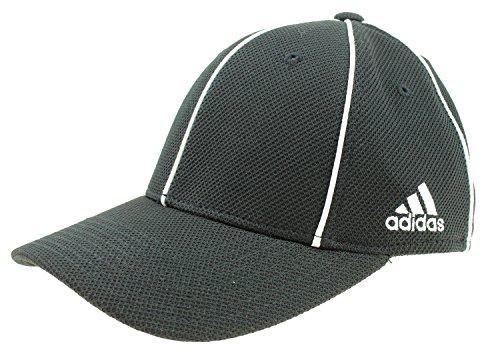 adidas Men's Structured FitMax Flex Hat, Black (Small/Medium)