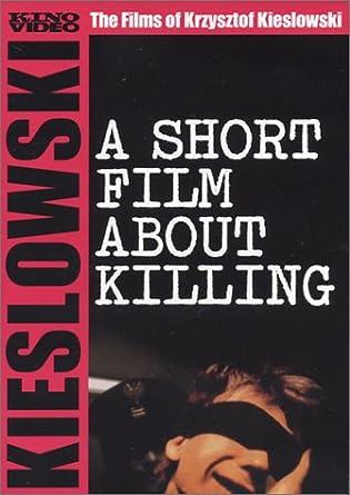 amazon co jp a short film about killing dvd ブルーレイ