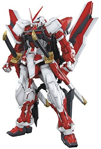 Bandai Hobby MG Gundam Kai Model Kit (1/100 Scale), Astray Red (1 Scale Model)