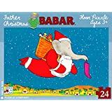 Babar Father Christmas 24 Piece Puzzle BA854