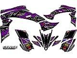 Senge Graphics All Years Kawasaki KFX 700, Wildfire Purple Graphics Kit