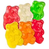 Albanese 12 Flavor Assorted Gummi Bears, 5-Pound Bags (Pack of 2)