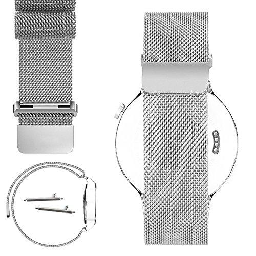 No1seller Magnetic Milanese Stainless Bracelet