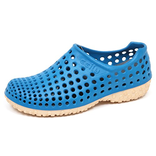 Chiaro Uomo Cell Blu On oro BoxSneaker Ccilu E8174without Slip Rubber Man Sandal Shoe rdBCxeo