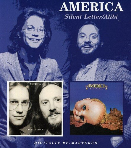 CD : America - Silent Letter / Alibi (United Kingdom - Import)
