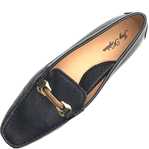 Erin Leather (JAY KAPLAN 400 Dollar Italian All Leather Womens Sophisticated Flat, Erin,Black,42= 11 to 11.5)