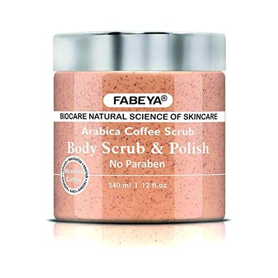 FABEYA Arabica Coffee Body Scrub and Polish, 340 ml