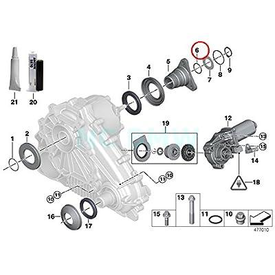 BMW Genuine O-Ring: Automotive
