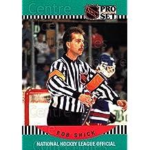 Rob Shick Hockey Card 1990-91 Pro Set #698 Rob Shick