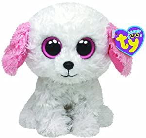 "Amazon.com: Ty Beanie Boos Diva Dog 6"" Plush: Toys & Games"