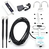Cell Phone Signal Booster Amplifier Repeater GSM 900MHz Mobile 2G 3G 4G + Yagi Antenna Kits for Home and Office Use, Support 150 Square Meters Area