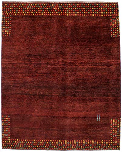 Magic Rugs Modern Contemporary Style Hand Knotted Persian Gabbeh Rug Oriental Area Carpet Home Décor