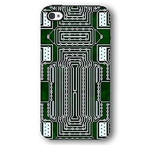 Computer Circuit Board CPU iPhone 4 and iPhone 4S Armor Phone Case by lolosakes