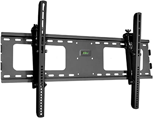 Black Adjustable Tilt Tilting Wall Mount Bracket for Vizio E70-C3 70 inch LED HDTV TV Television