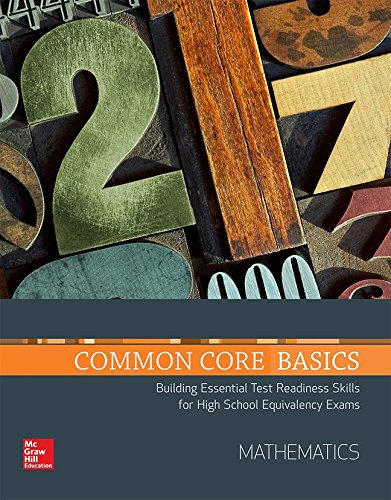Common Core Basics, Mathematics Core Subject Module (BASICS & ACHIEVE)