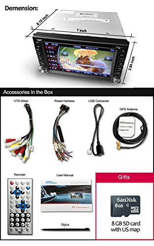 51BH7SCgnmL amazon com corehan 6 2 inch touch screen double din in dash head  at fashall.co