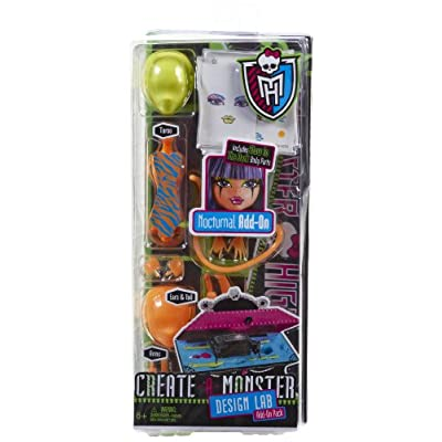 Monster High Create-A-Monster Design Lab Nocturnal Add-On Pack: Toys & Games