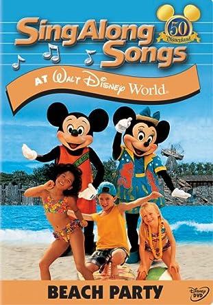 cd96b5b1c18 Sing-Along Songs: Beach Party at Walt Disney World DVD Region 1 US Import  NTSC: Amazon.co.uk: DVD & Blu-ray