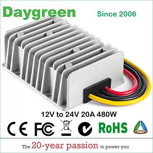 Davitu Inverters & Converters - 12V to 24V 20A Step UP Boost
