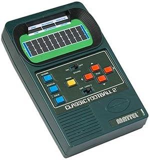 Amazon Com Mattel Classic Football Handheld Game Toys Games