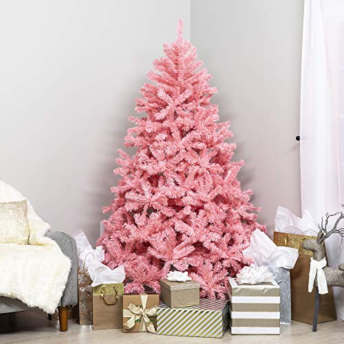 Best-Choice-Products-Premium-Hinged-Artificial-Christmas-Pine-Tree-Holiday-Decoration