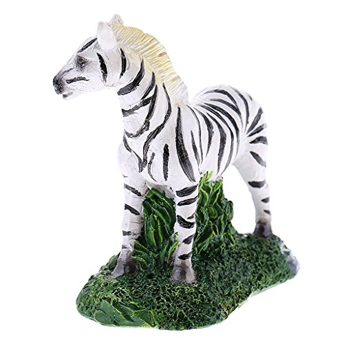 MonkeyJack Miniature Cute Zebra Sculpture Figurine for sale  Delivered anywhere in USA