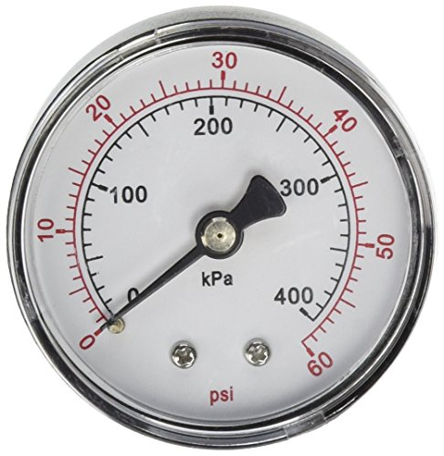 (Pentair 33600-0023T 2-Inch Pressure Gauge Replacement for select Sta-Rite Pool and Spa Filters)