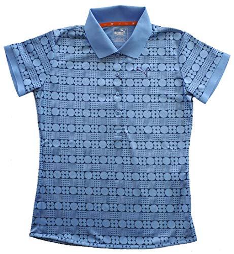 PUMA(プーマ) ゴルフW SSポロ デラロビアブルー レディース Lサイズ 923221-03L
