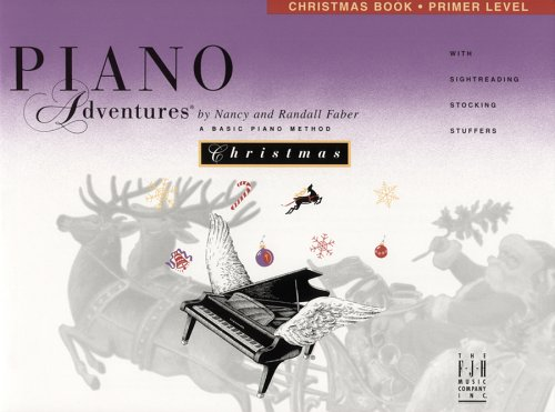 Piano Adventures: Christmas Book, Primer Level ()