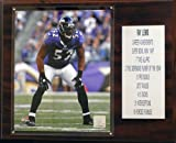 NFL Baltimore Ravens Ray Lewis Career Stat Plaque